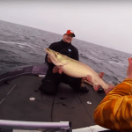 VIDEO: Monster 50-Pound Muskie Caught By Lucky Angler